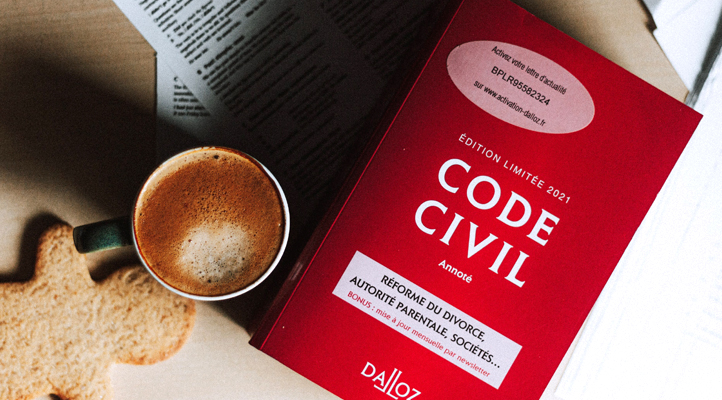 image de livre du droit