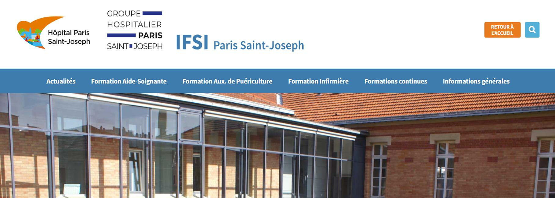 La Fondation Hôpital Saint-Joseph forme des élèves aux métiers d'Auxiliaire de Puériculture, d'Aide-Soignante et en Soins Infirmiers