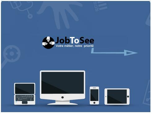 Se connecter sur la plate-forme JobToSee